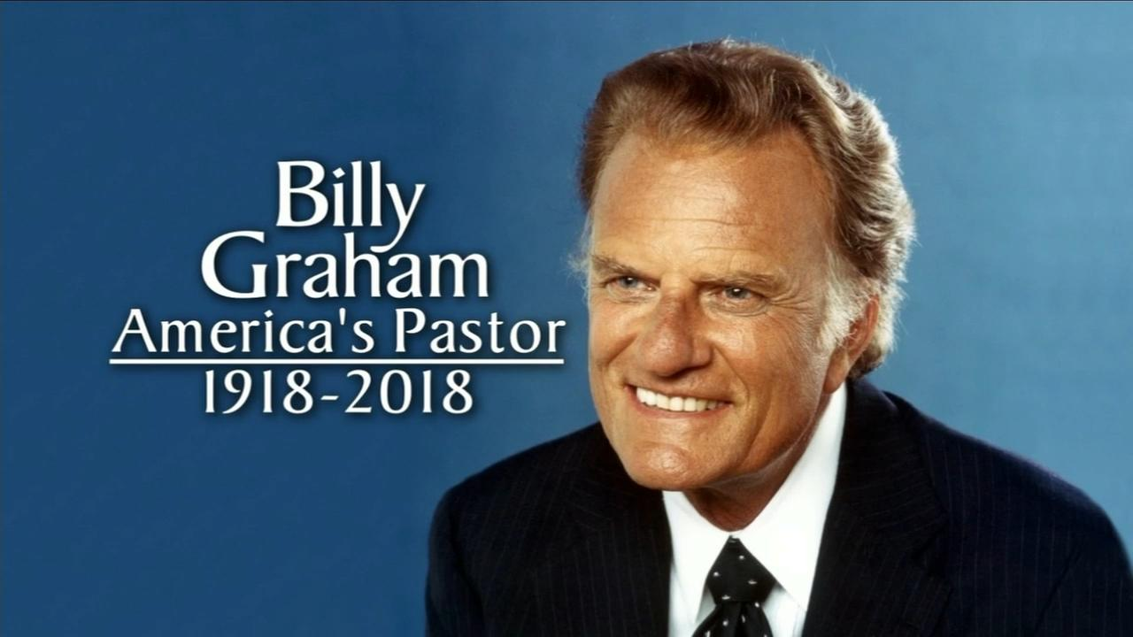Rev. Billy Graham dies