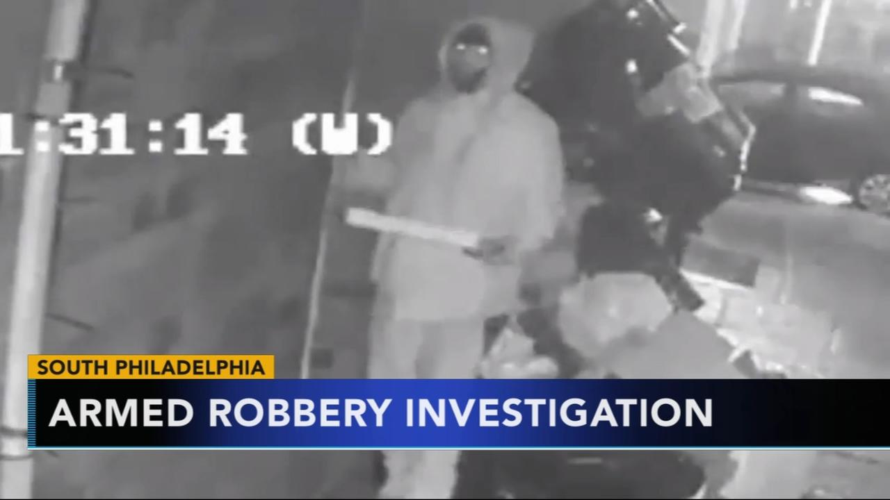 Men sought for armed robbery after fake pizza delivery