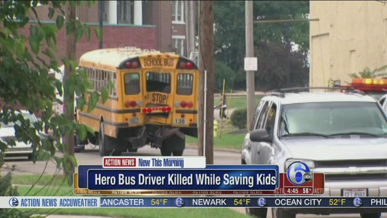 VIDEO: School bus driver killed during safety drill