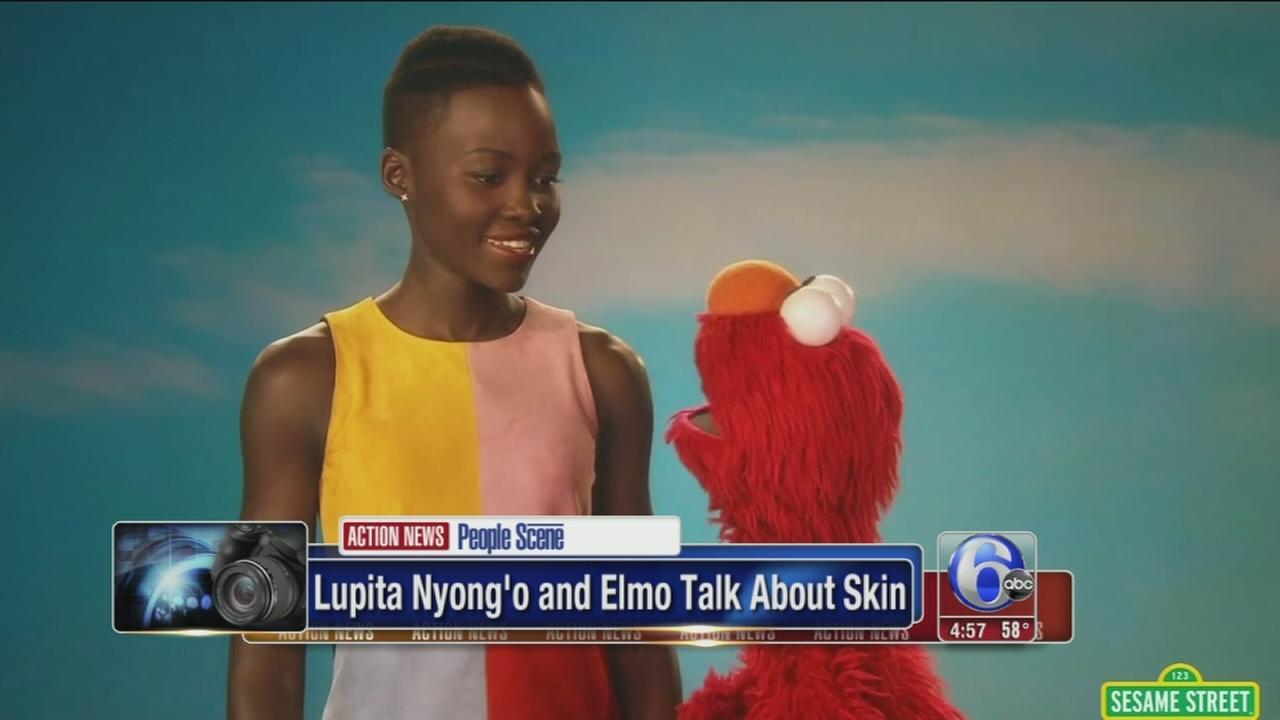 VIDEO: Lupita Nyongo pays a vist to Sesame Street