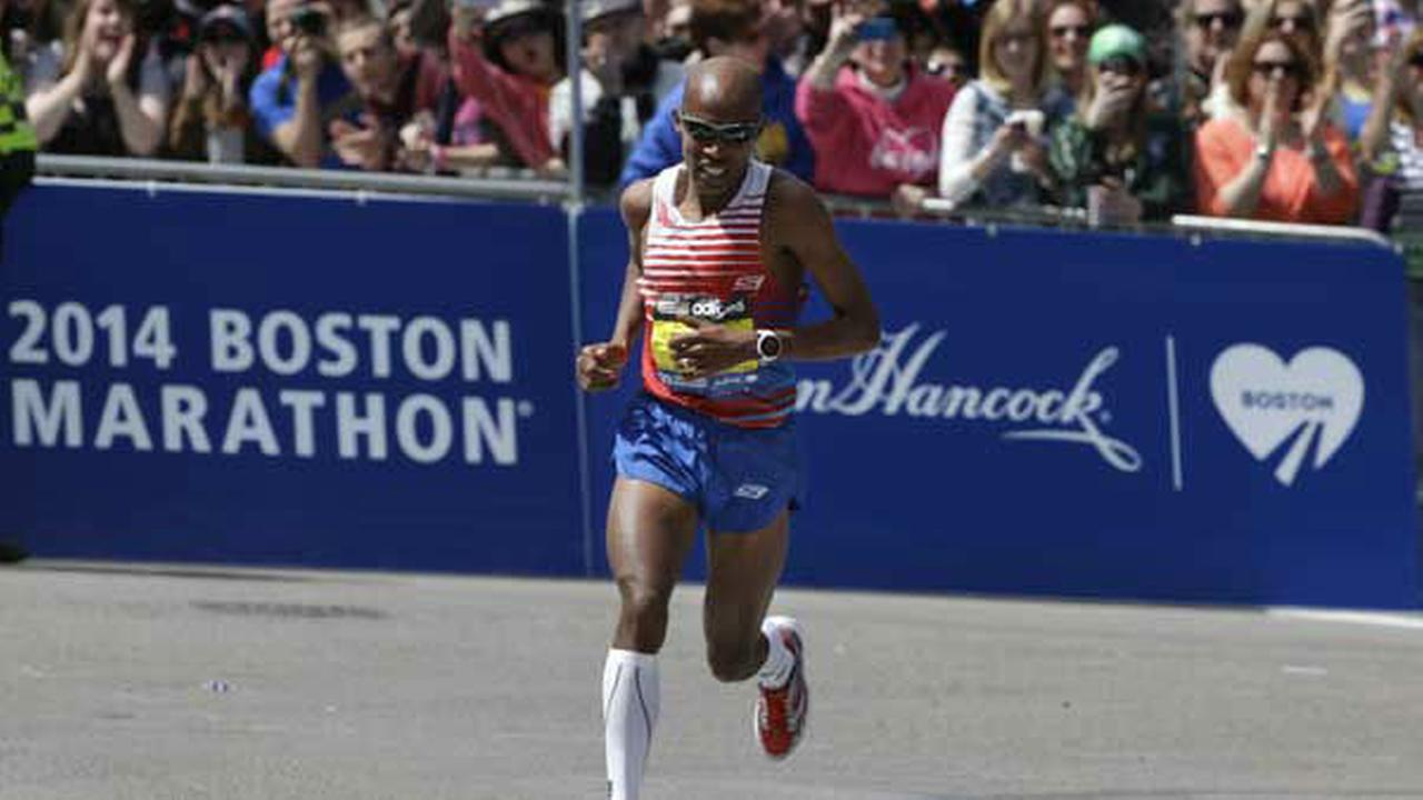 Pictures from the Boston Marathon