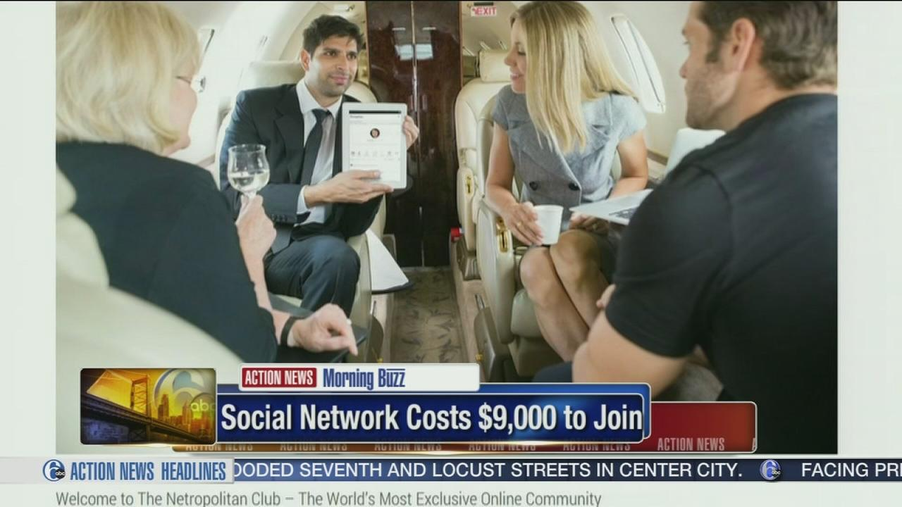 VIDEO: Social Network costs 9,000 dollars to join