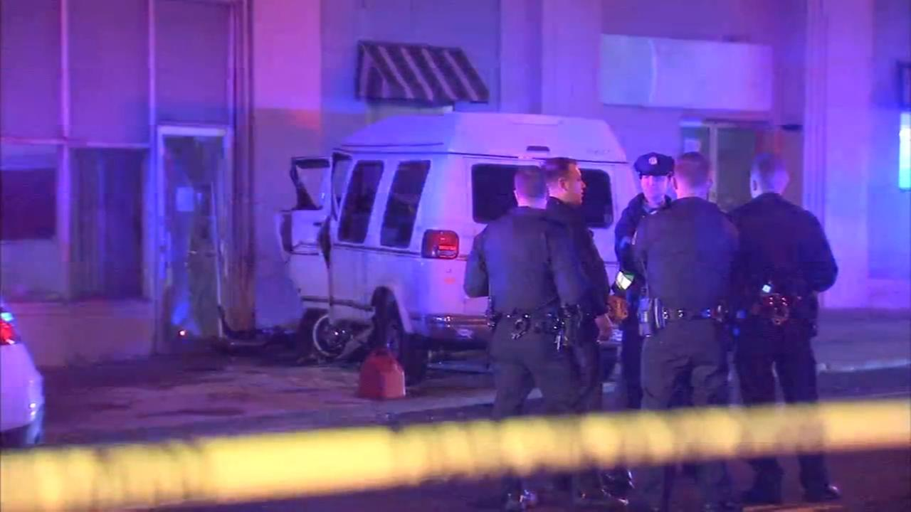 Driver shot on Broad Street