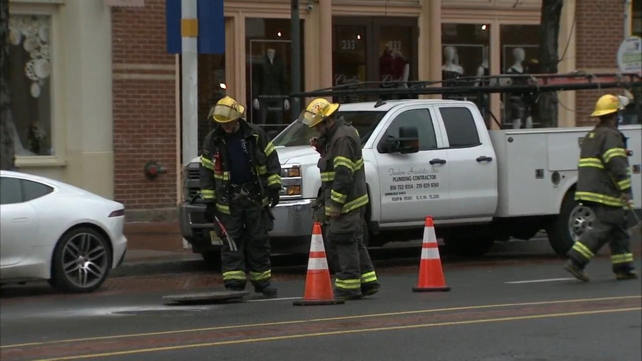 RAW VIDEO: Manhole explosion in Old City