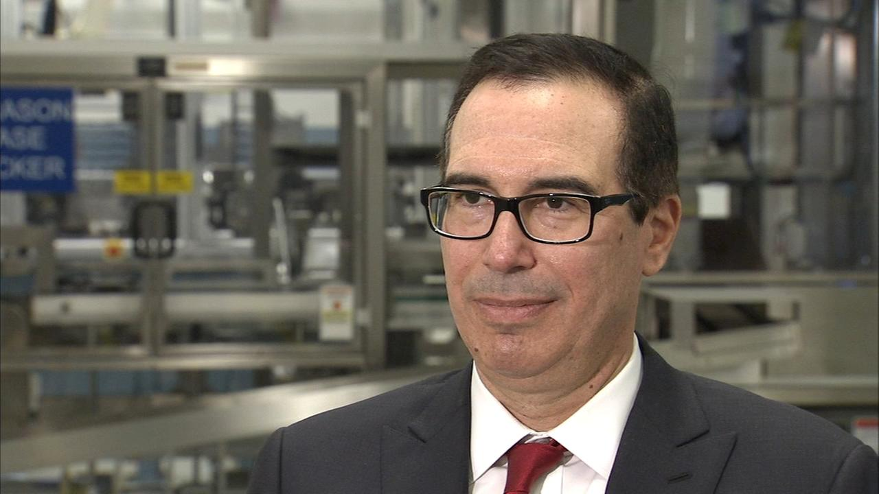 FULL INTERVIEW: Brian Taff sits down with Secretary Mnuchin