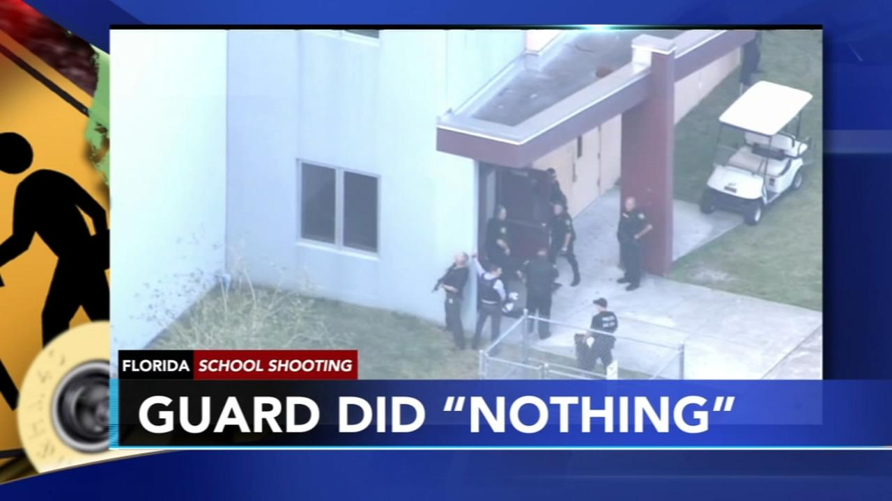 Armed guard did nothing during Parkland School Shooting