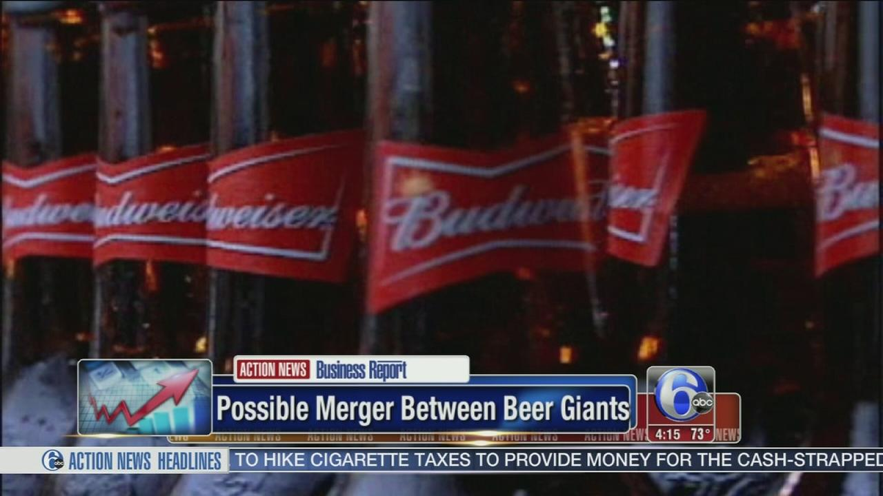 VIDEO: Possible merger between beer giants