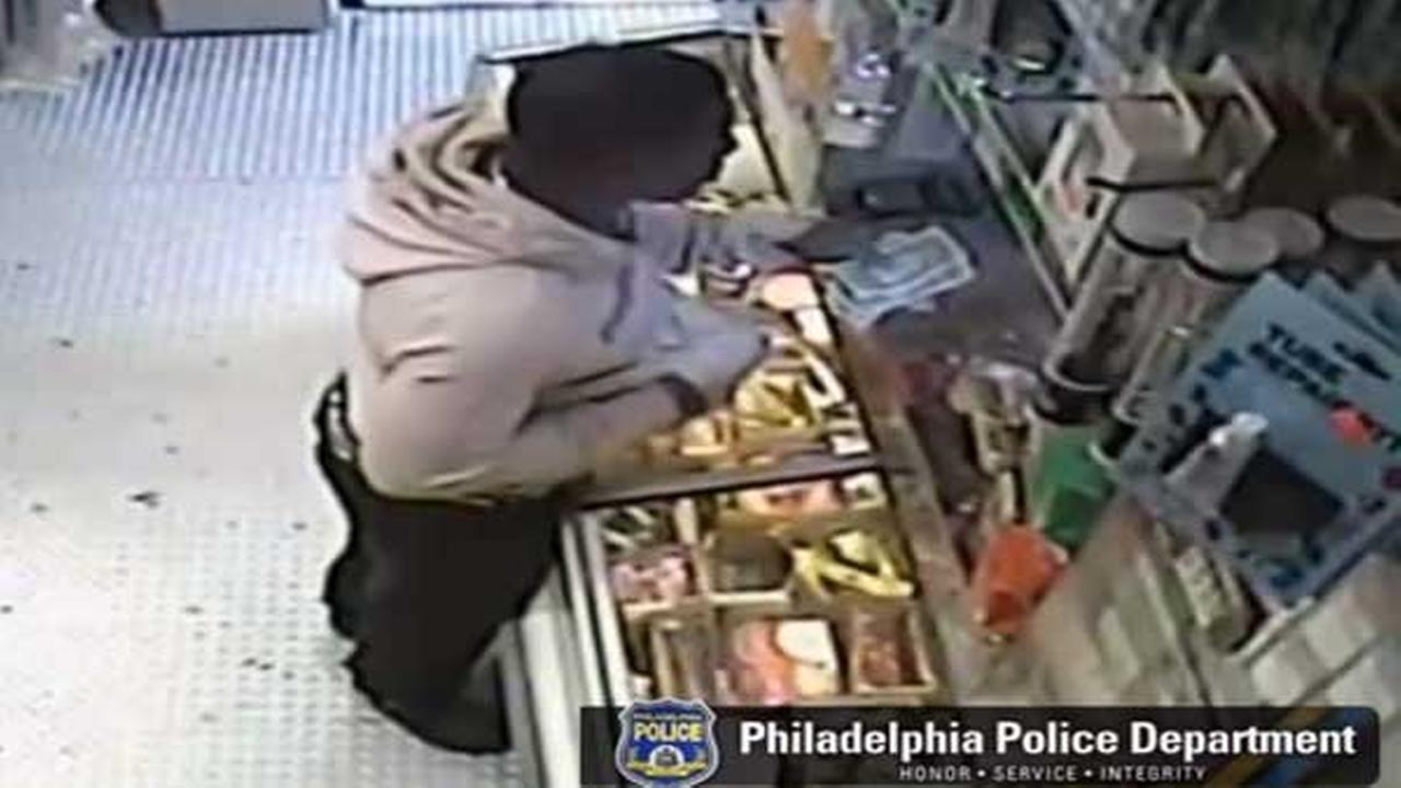 Suspect sought for robbery in Southwest Philadelphia