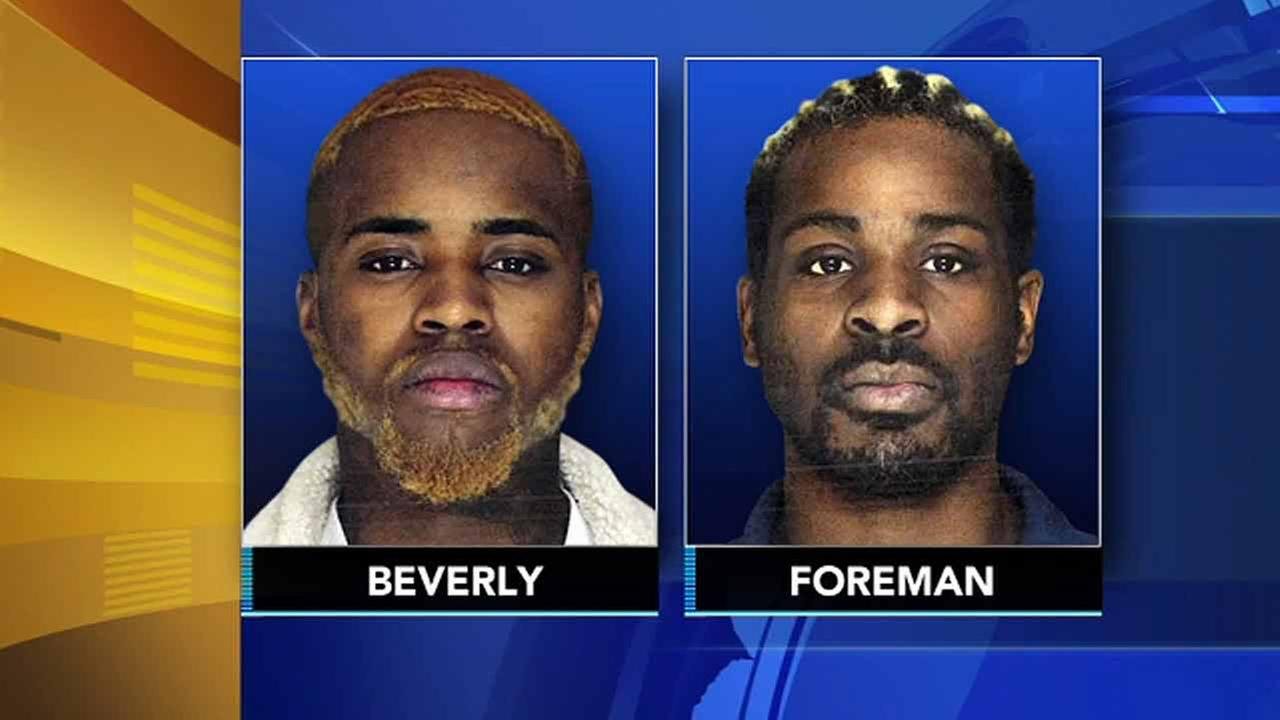 2 accused of 10 armed robberies at Walmarts across the area