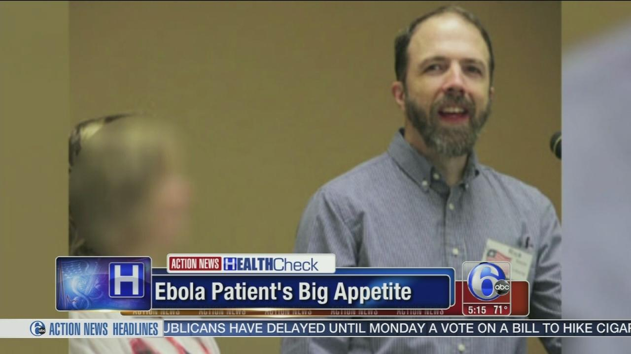 VIDEO: Encouraging news for Ebola patient