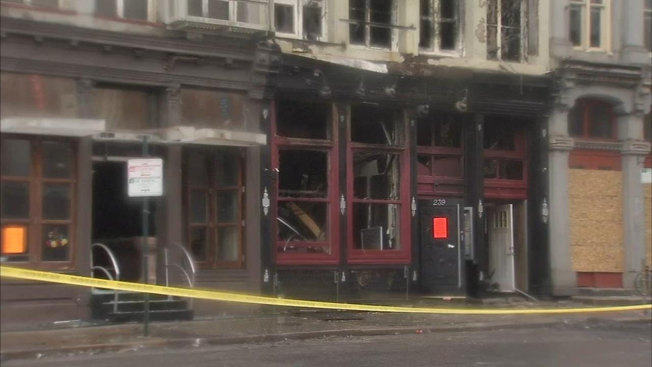 Old City still reeling from 4-alarm inferno