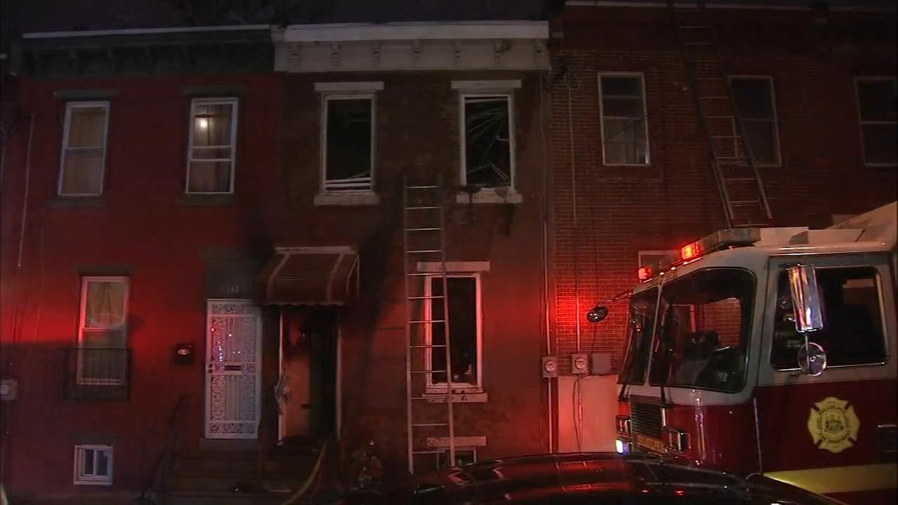 1 injured after fire in West Philadelphia