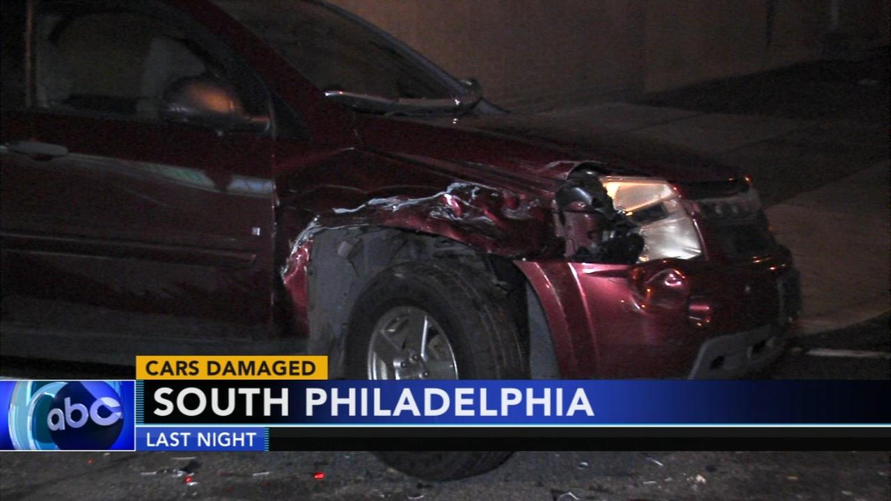 Out of control driver damages 16 vehicles in South Philadelphia