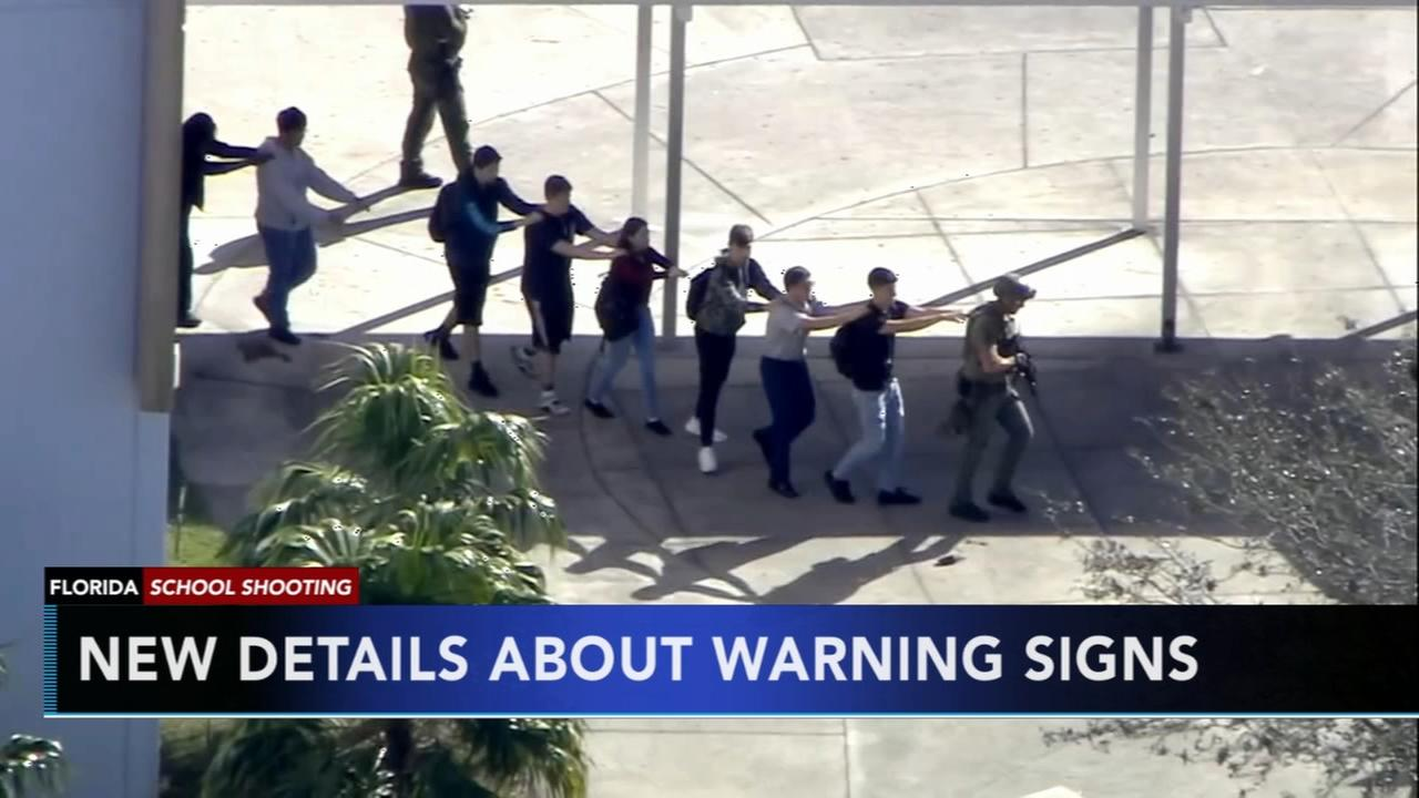 New details released about warning signs regarding Florida school shooter