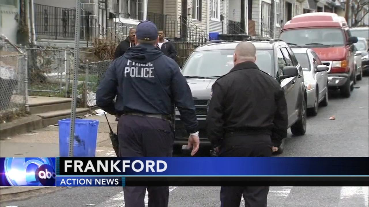 Young man shot in the head in Frankford