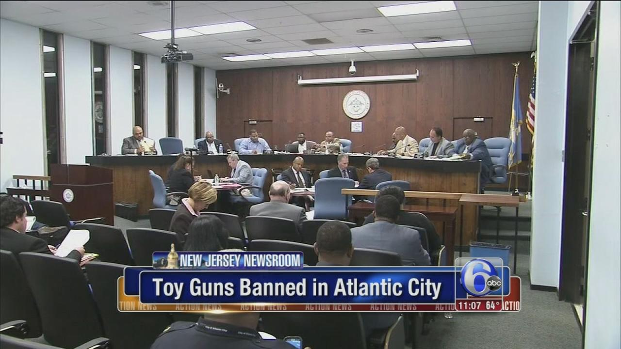 VIDEO: Toy guns banned in Atlantic City