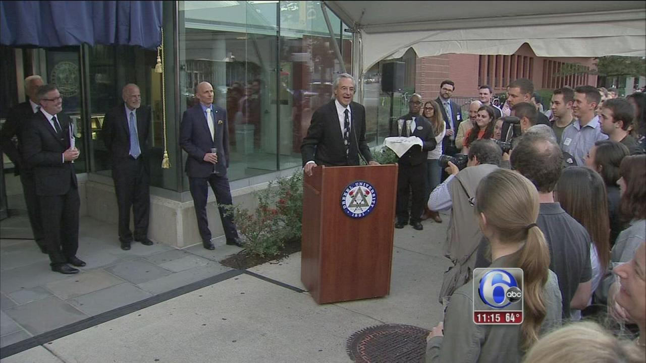VIDEO: Drexel University receives $50 million gift for law school