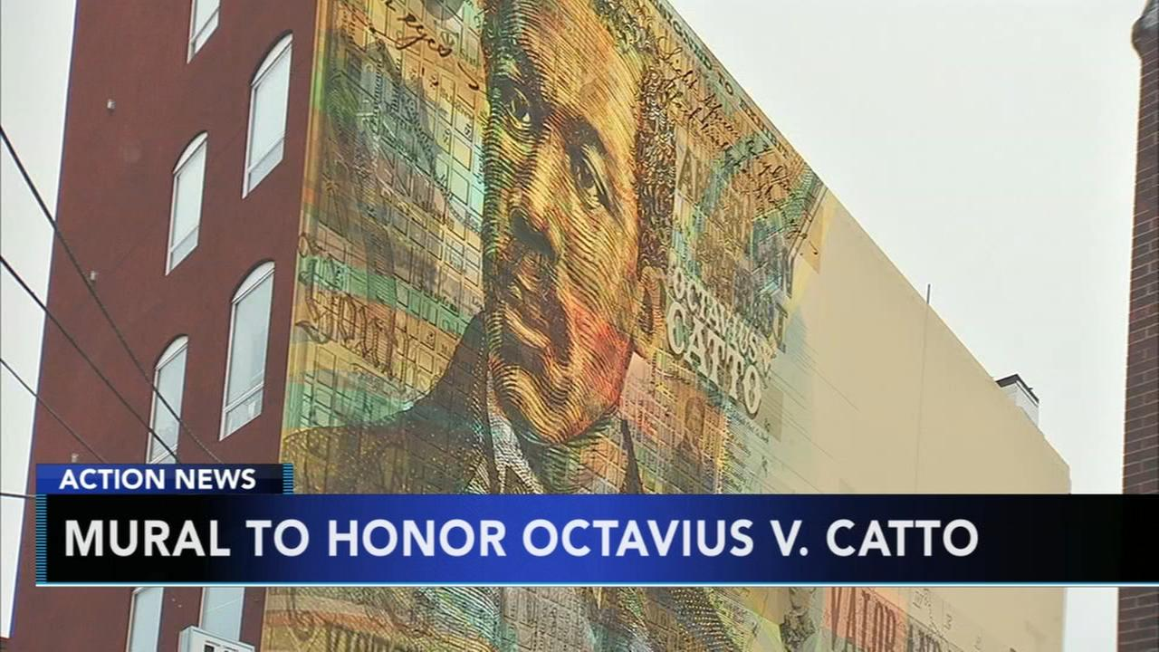 Mural to honor Octavious V. Catto