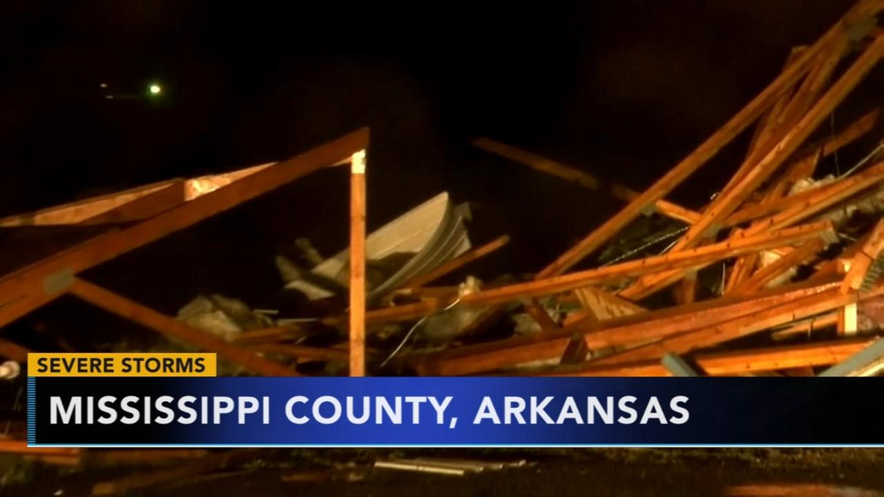 At least 4 dead after reported tornadoes, flooding