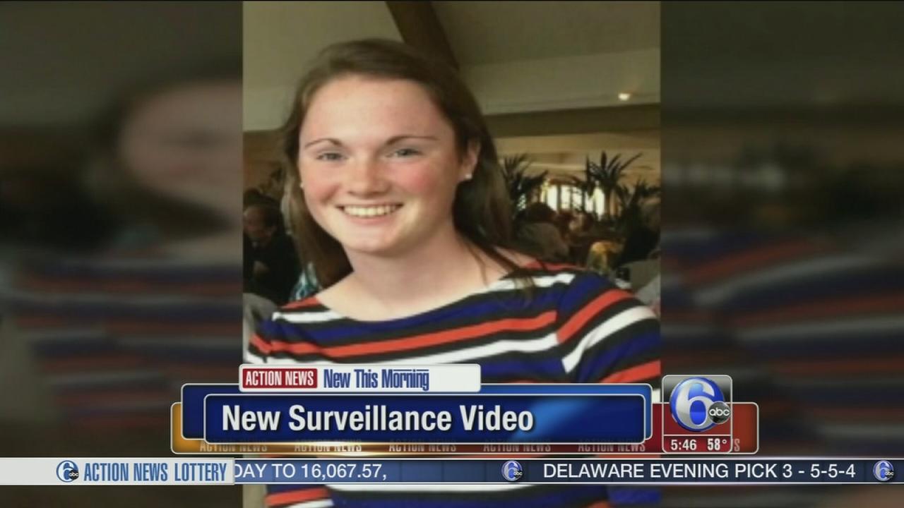 VIDEO: New surveillance video of missing UVA student