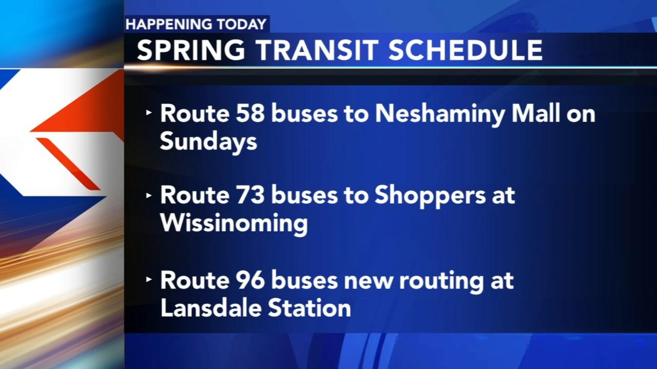 SEPTA releases new schedules