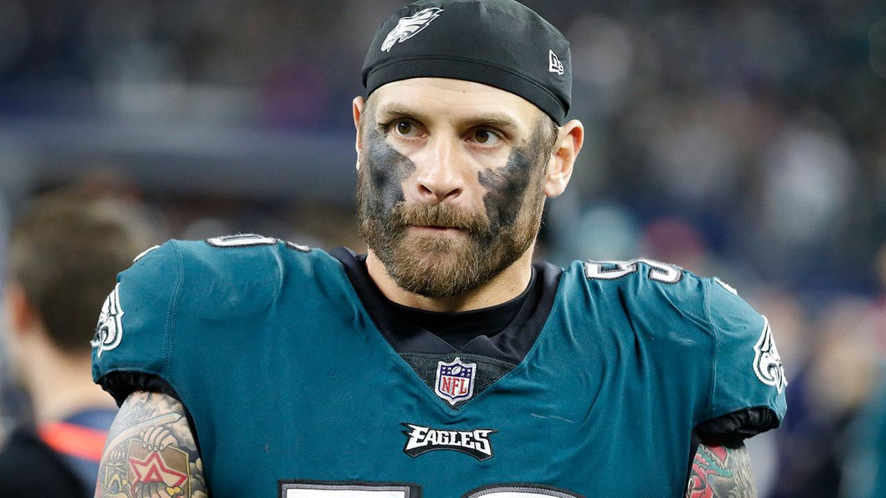 Philadelphia Eagles Chris Long took his Eagles pride to new heights.
