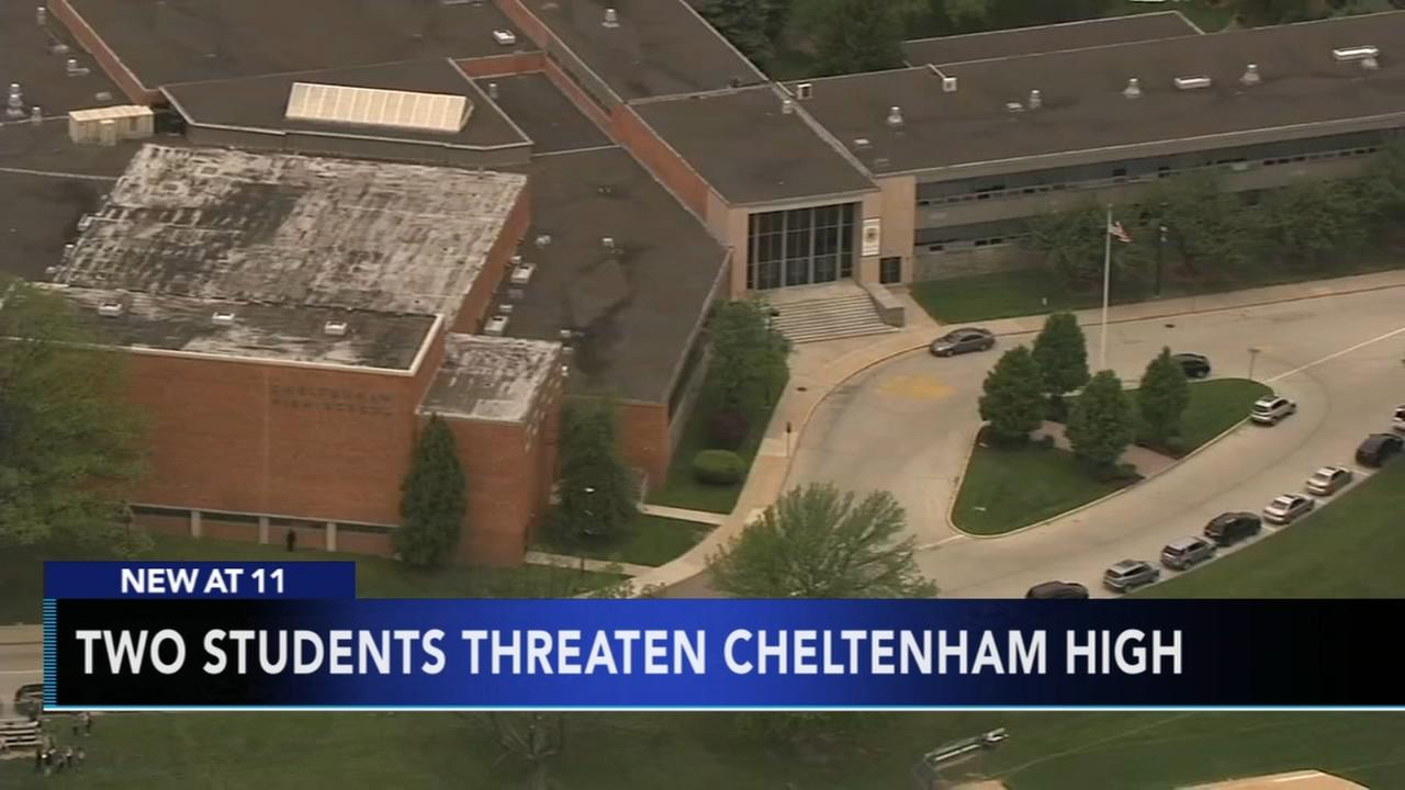 Two Cheltenham students arrested