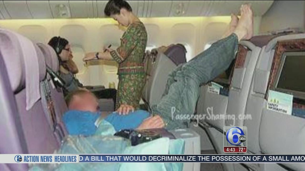 VIDEO: Website showcases passengers behaving badly