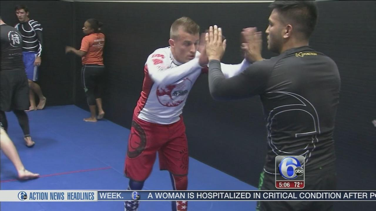 VIDEO: Marine takes up martial arts