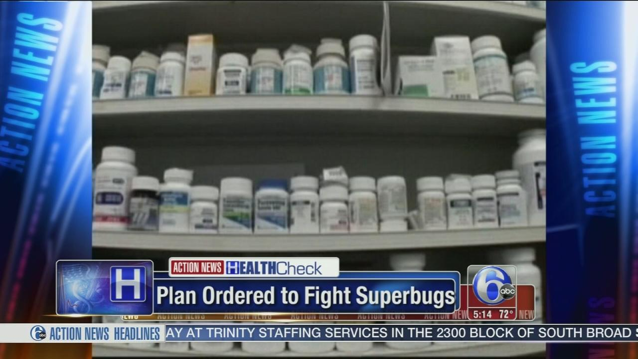 VIDEO: White House orders plan for antibiotic resistance