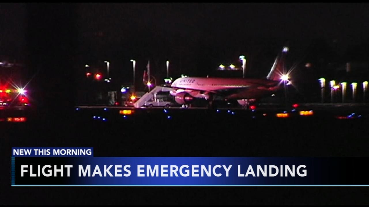 Flight makes emergency landing in Lehigh Valley