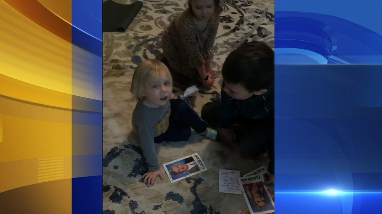 Young Action News fans gets letter from Morning Team