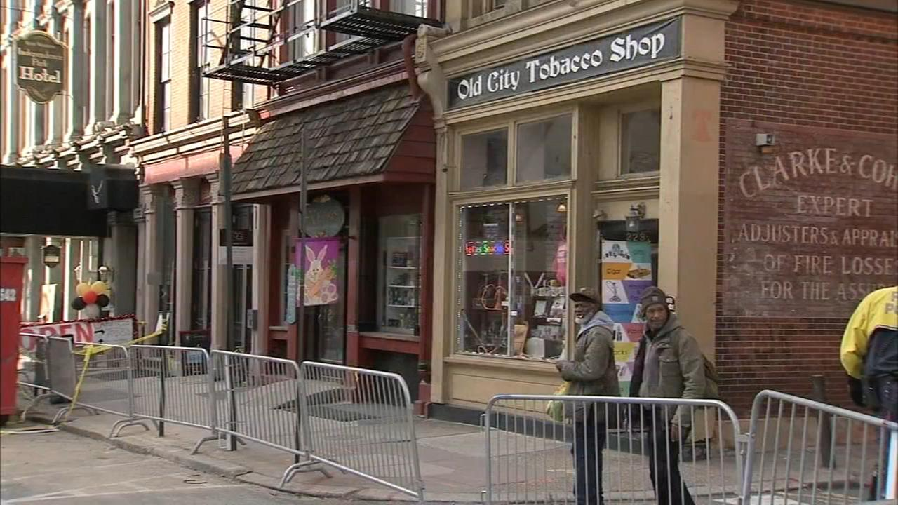 Old City businesses begin to reopen following massive fire