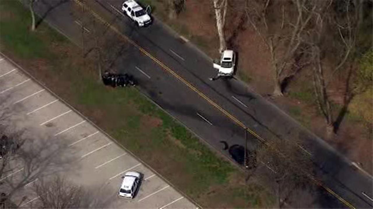 Multi-vehicle crash shuts down MLK Drive