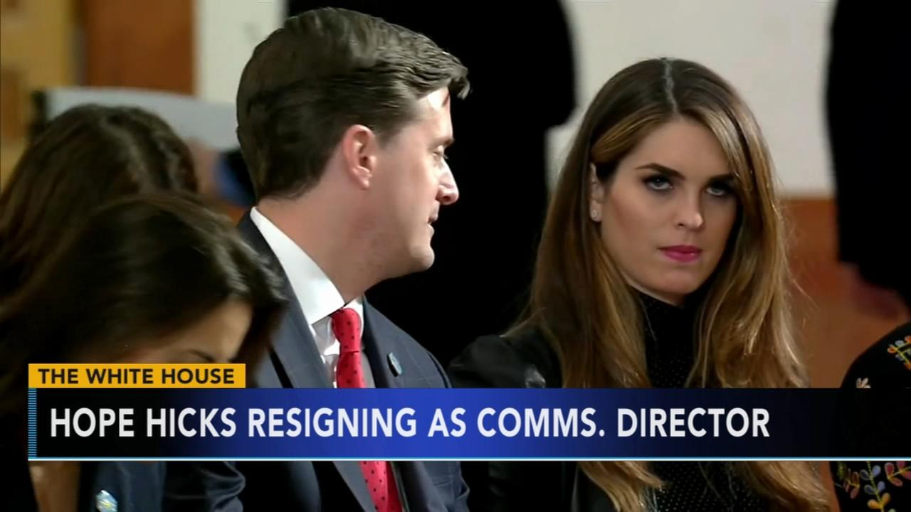 Hope Hicks resigning White House in coming weeks, sources ...