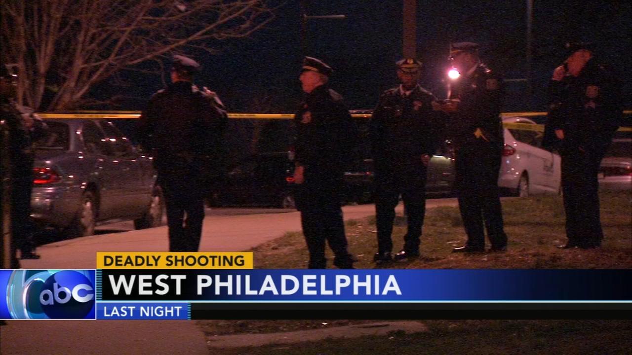 Deadly shooting in West Philadelphia