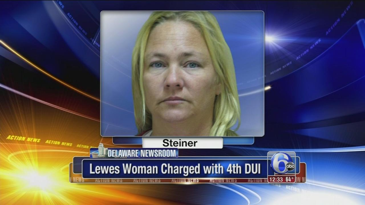 VIDEO: Woman charged with 4th DUI