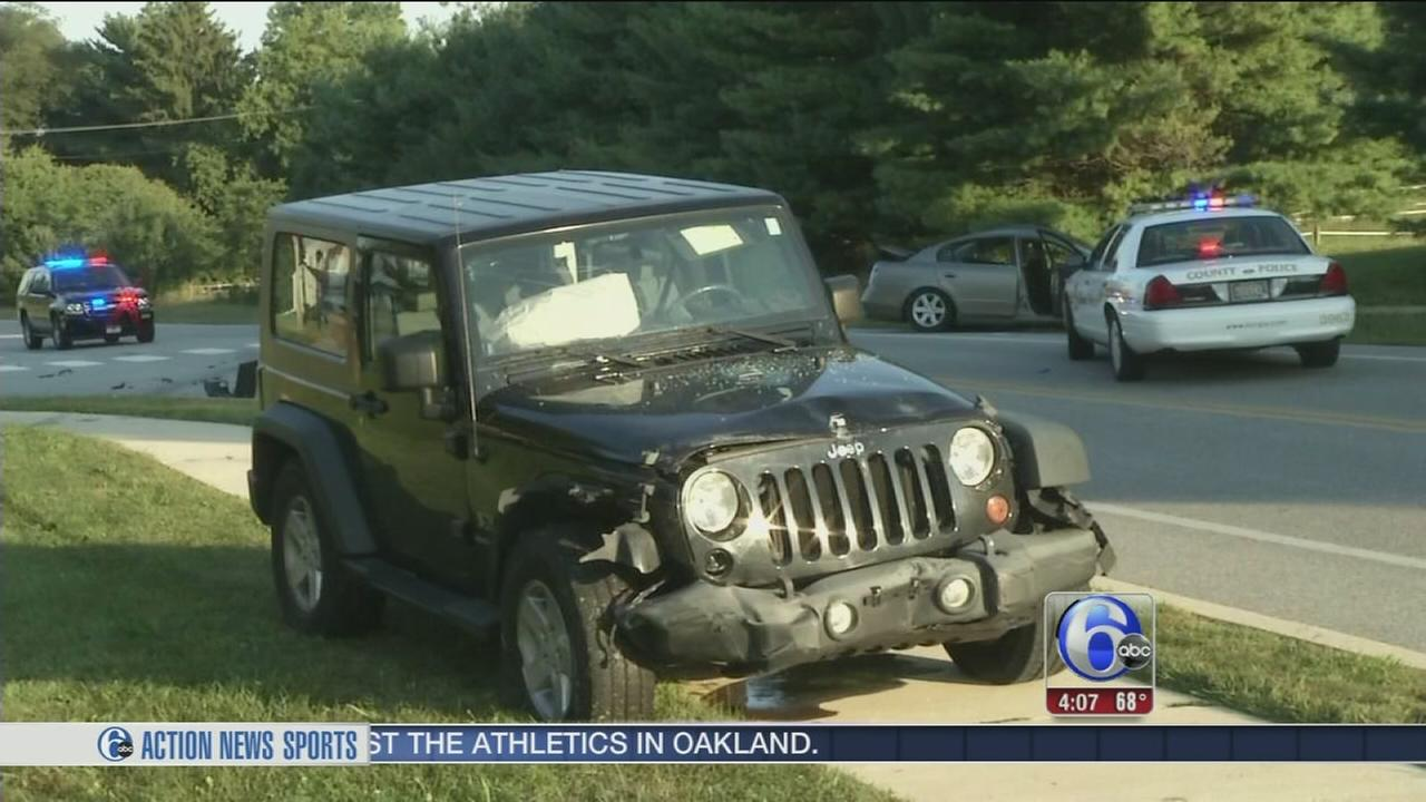 VIDEO: Woman critically injured in Delaware crash