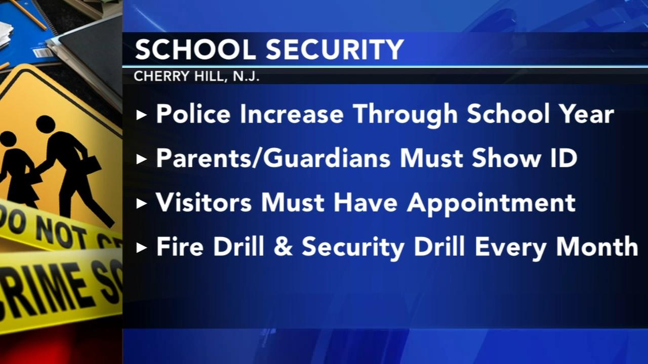 Cherry Hill School District implements new security measures