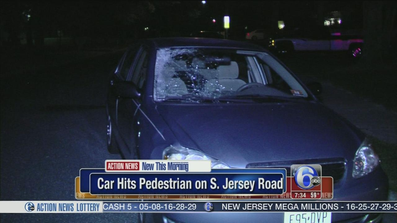 VIDEO: Young man struck crossing street in Gloucester Twp.