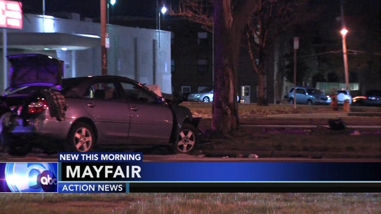 Deadly crash on Roosevelt Boulevard in Mayfair