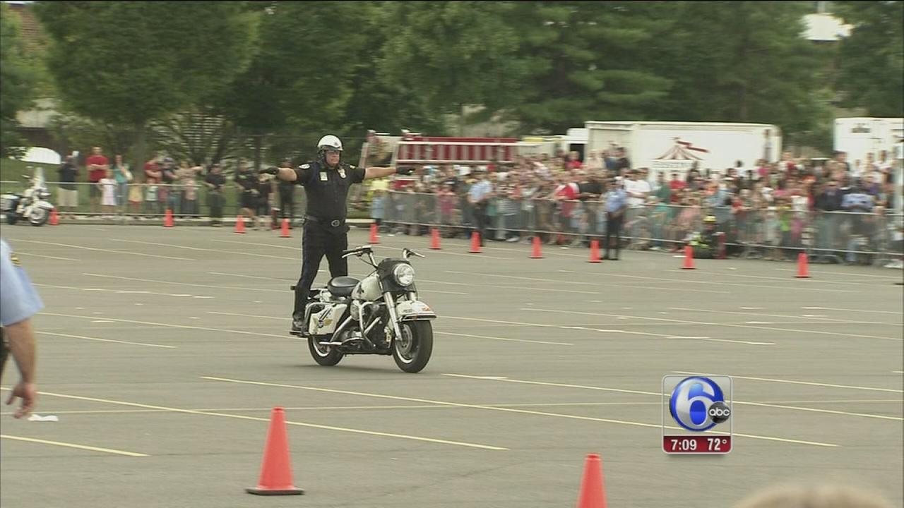 VIDEO: Big stunts at 60th annual Hero Thrill Show