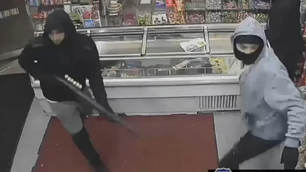Armed robbery in West Philadelphia