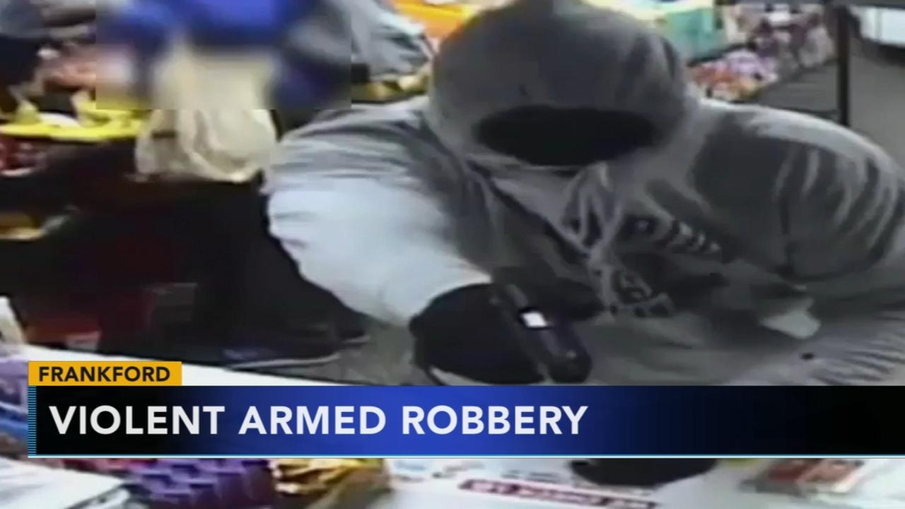 Violent armed robbery in Frankford