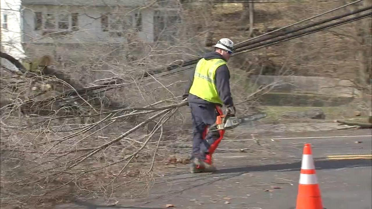 Delco cleans up from Fridays storm