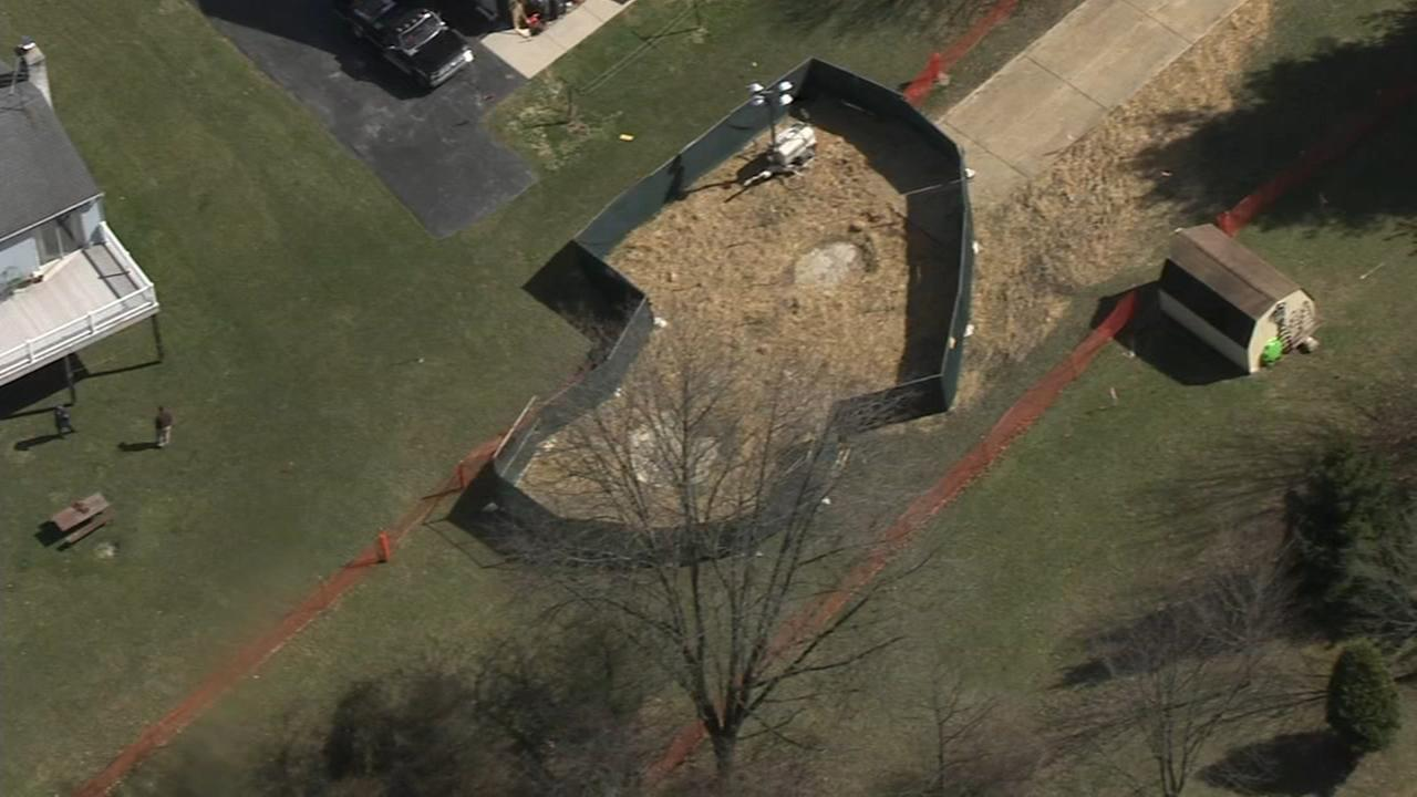 Sinkholes open at homes near Pa. pipeline project