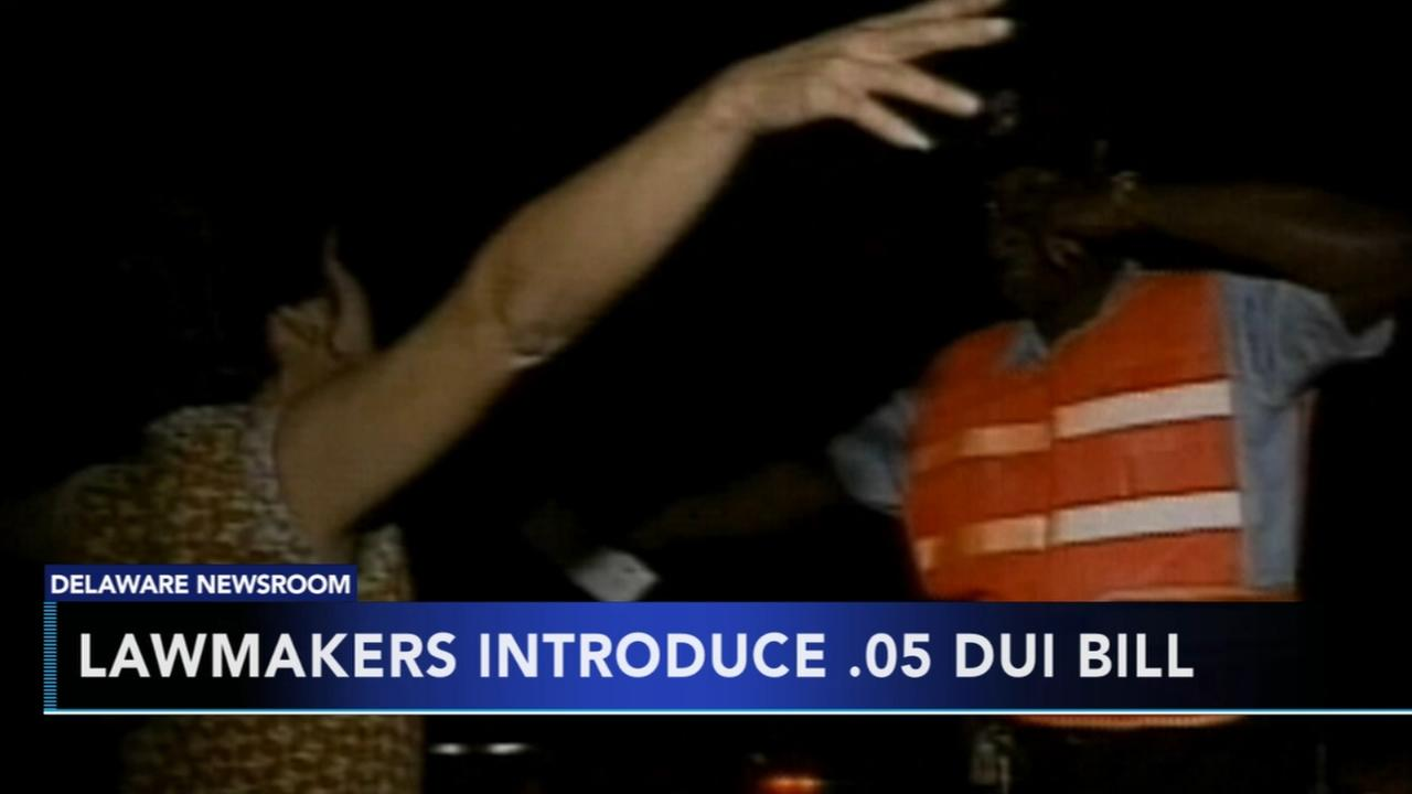 Del. lawmakers introduce .05 DUI bill