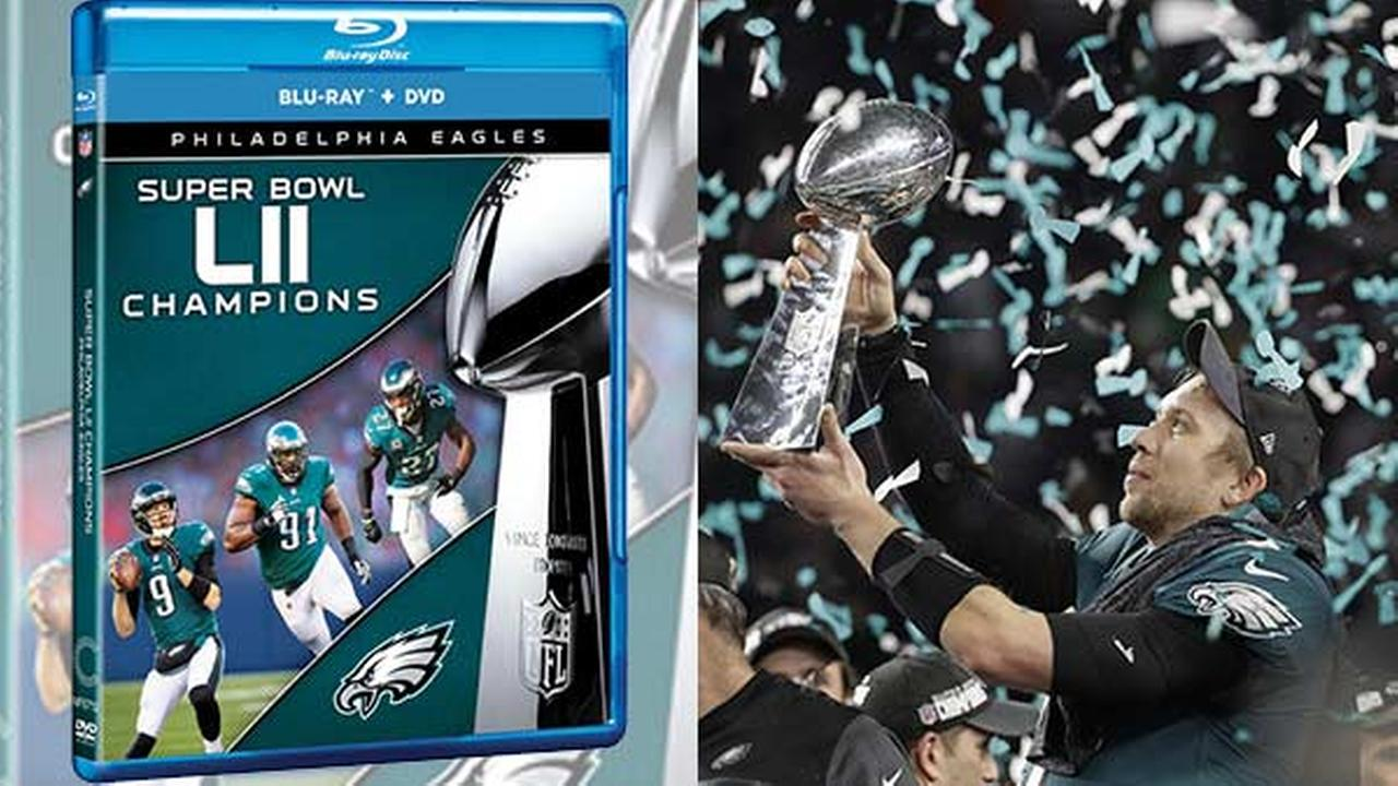 Eagles Super Bowl DVD now on sale