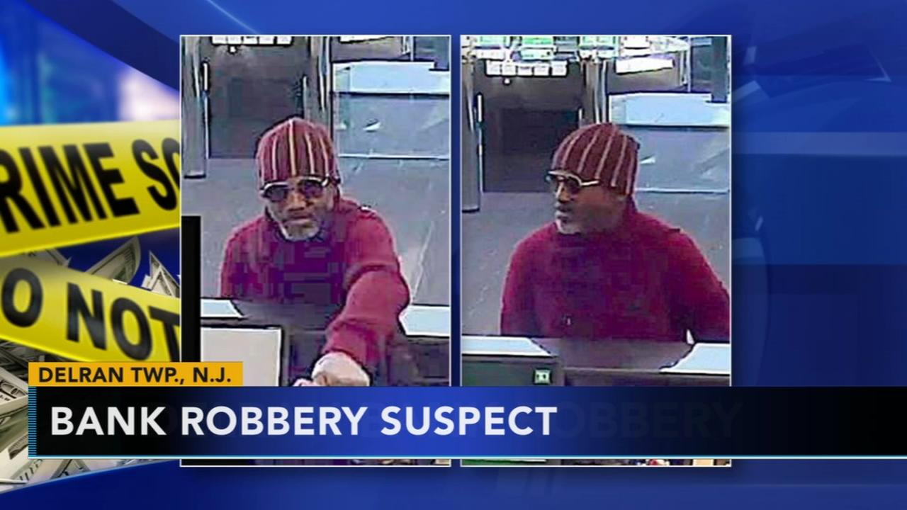 Reward offered for ID of bank robbery suspect