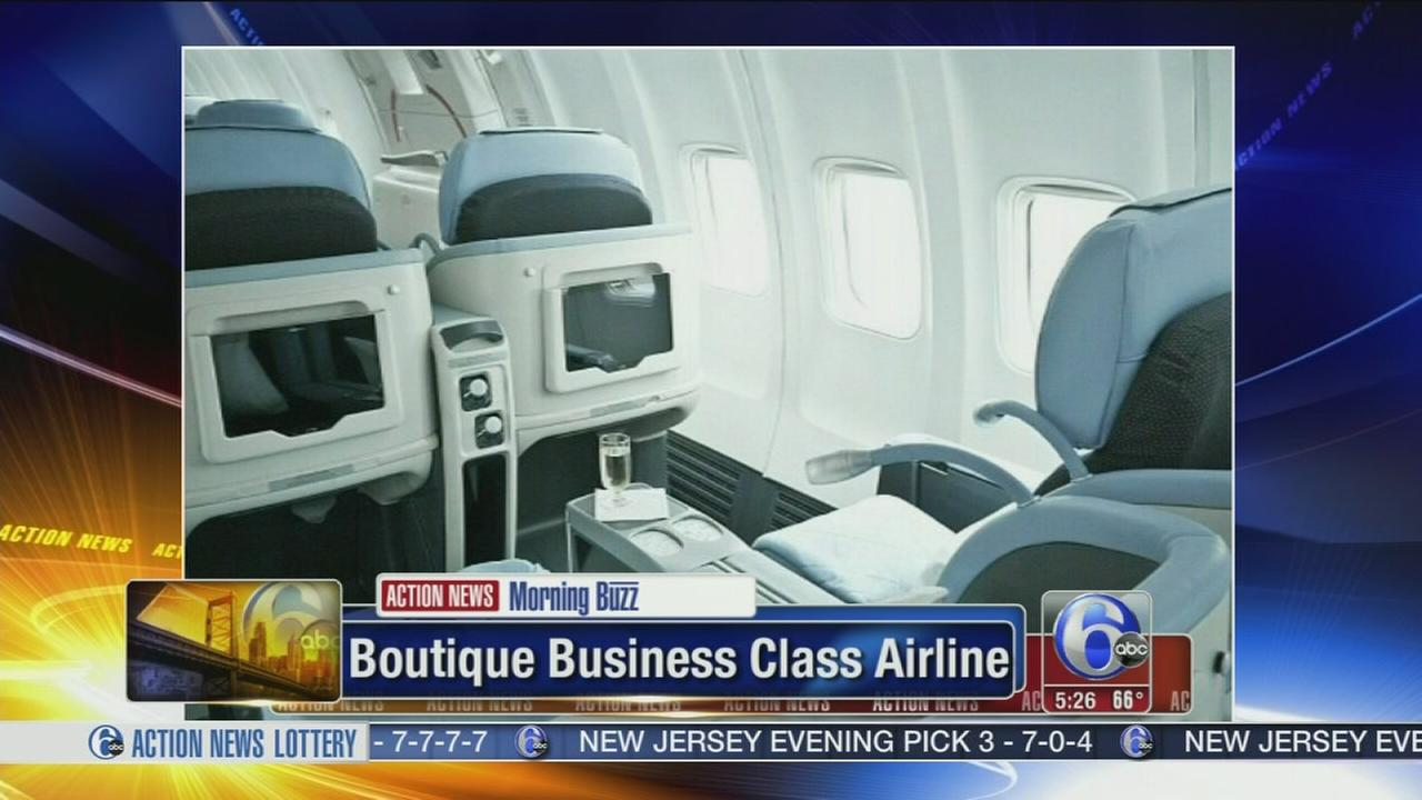VIDEO: New French boutique airline